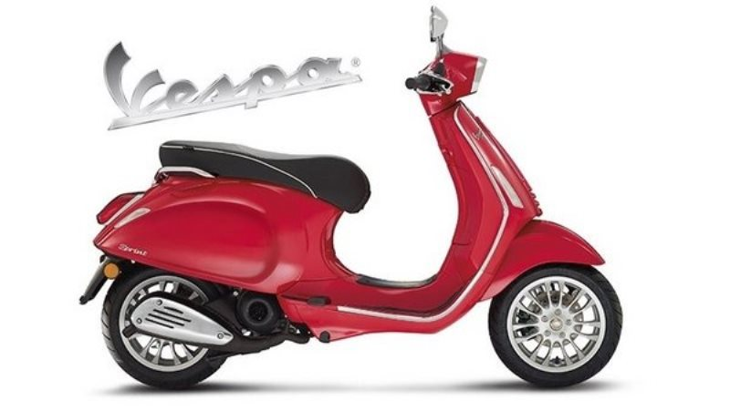 Vespa Sprint 150 ABS Red
