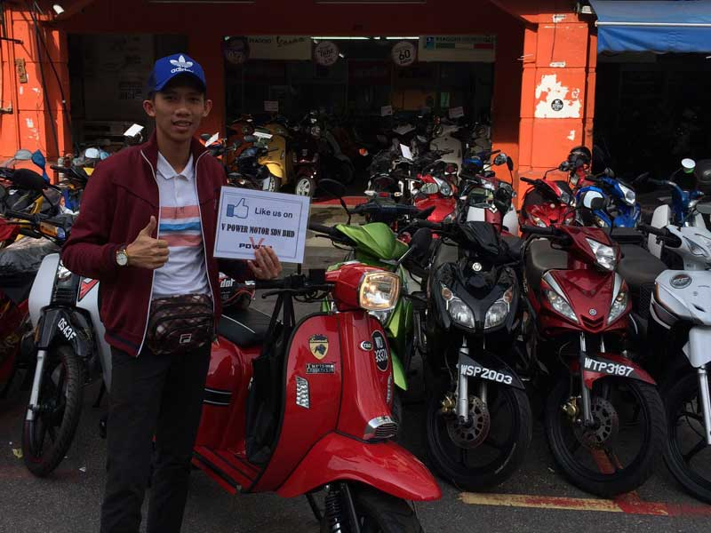 V Power Batu Caves Motorcycle Happy Customer Jul 2016