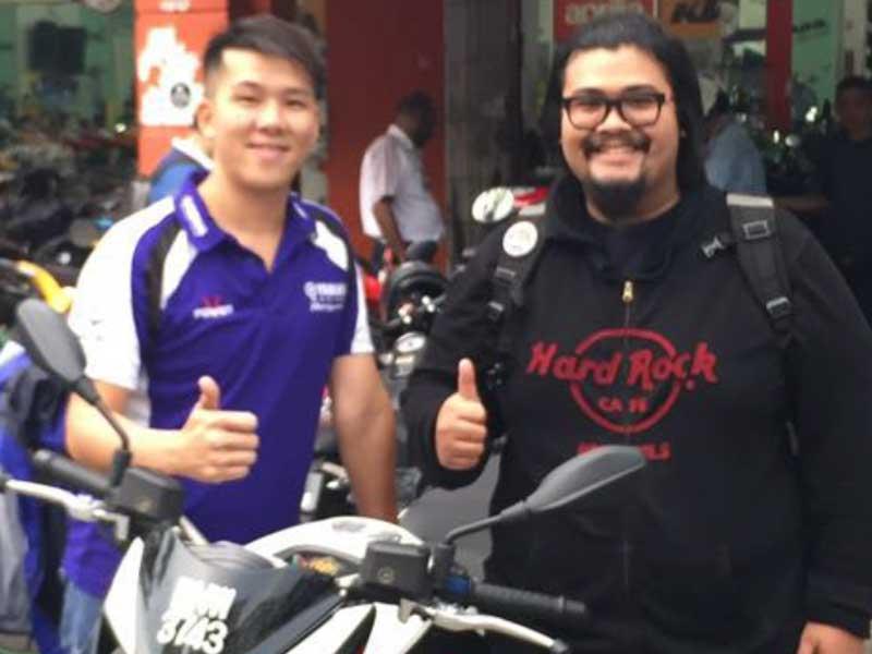V Power Batu Caves Motorcycle Superbike Customer Aug 2016