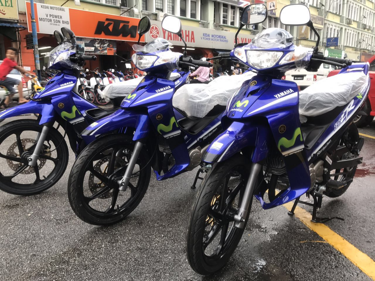 V power motor yamaha y125zr movistar limited for Yamaha installment financing